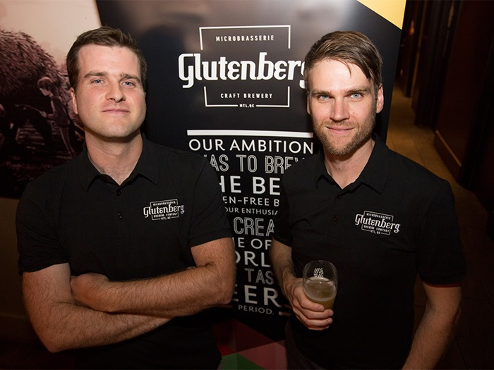 The two founder of Glutenberg